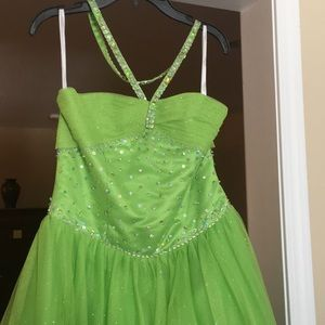 Child pageant gown size 10